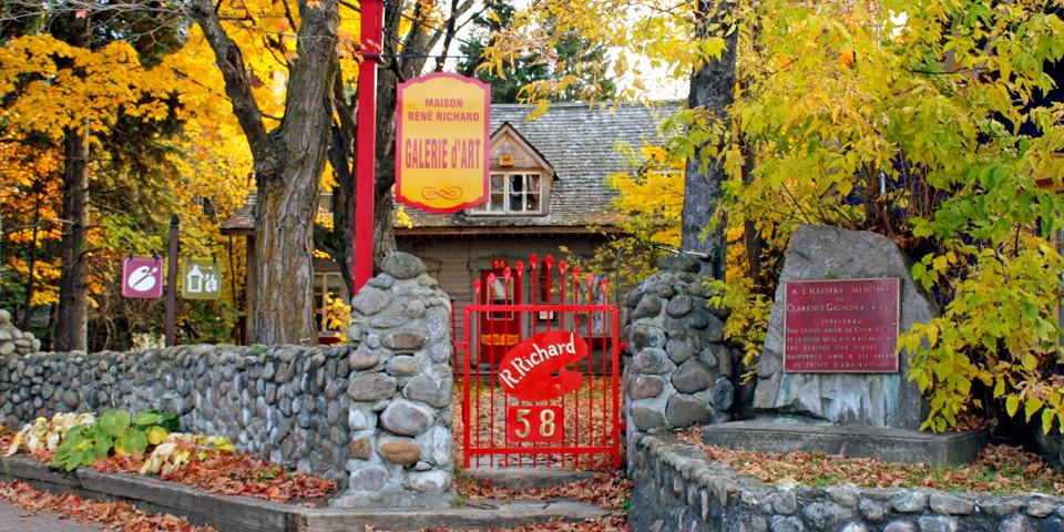 Maison René Richard, Baie-Saint-Paul, Charlevoix, Quebec, Canada