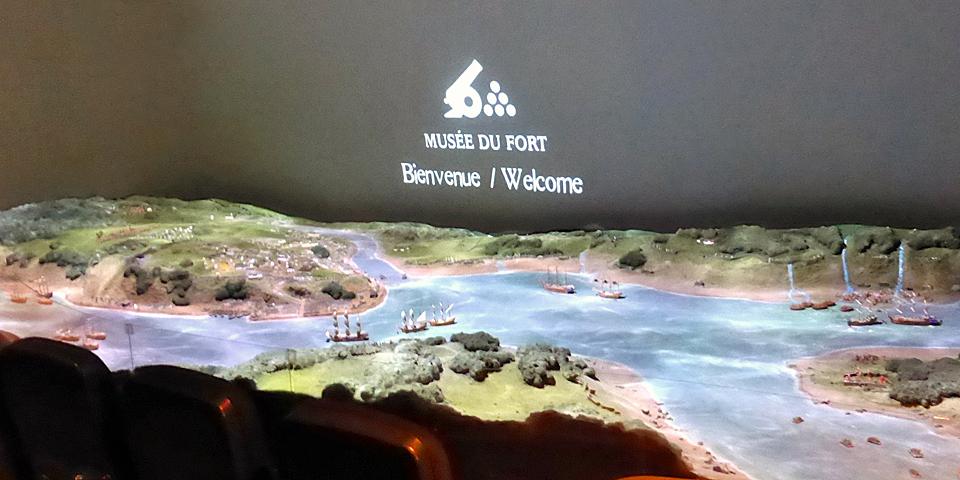 Musée du Fort diorama, Quebec City