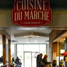 La Cuisine Du Marché, cafeteria at the Quebec City Public Market