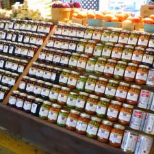 jams and jellies, Marché du Vieux Port