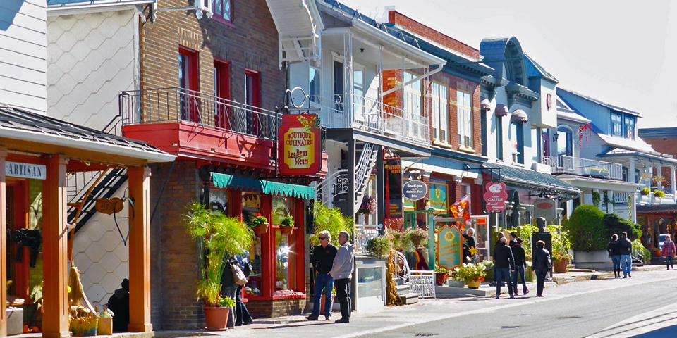 rue Saint-Jean-Baptiste, Baie Saint-Paul, Charlevoix, Quebec, Canada