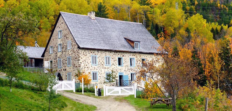Boulangerie La Rémy mill, Charlevoix, Quebec, Canada