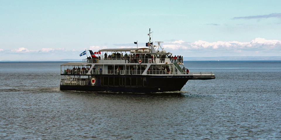 Grand Fleuve, Croisieres, whale watch, Charlevoix, Quebec, Canada