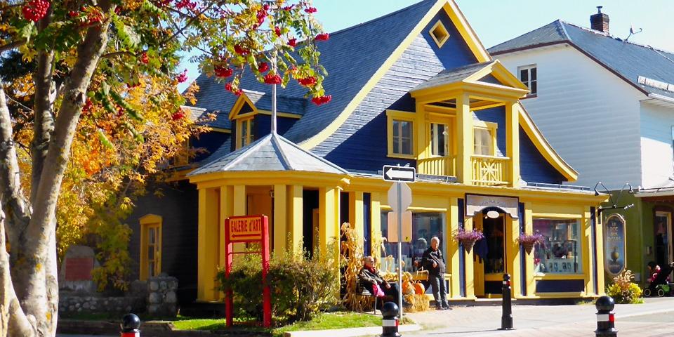 Le Pot aux Roses, Baie Saint Paul, Charlevoix, Quebec, Canada
