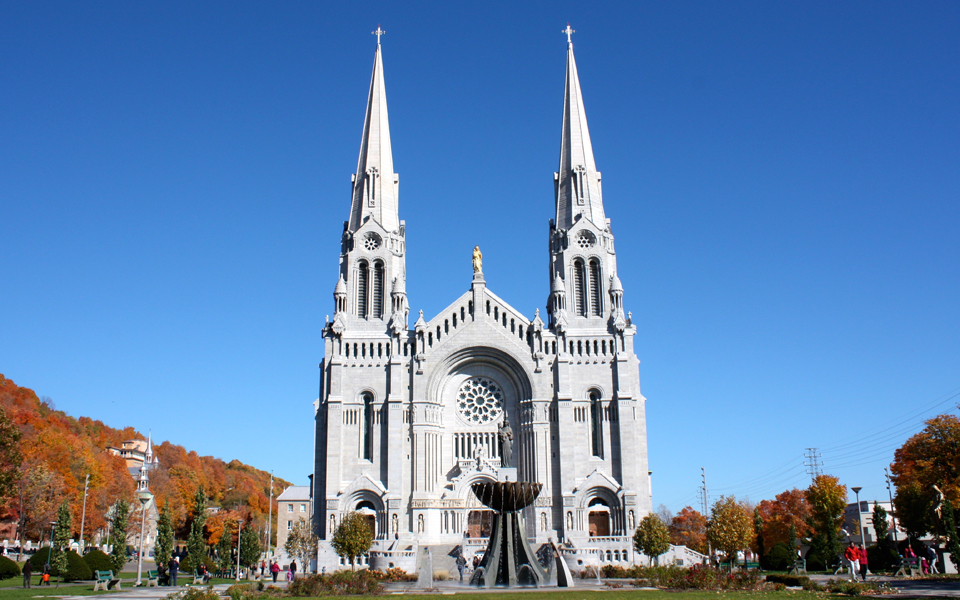 Basilique Sainte Anne de Beaupre, Quebec, Canada