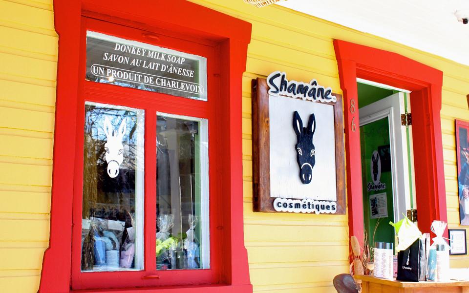 Shâmane cosmetics, Baie-Saint_Paul, Charlevoix, Quebec, Canada