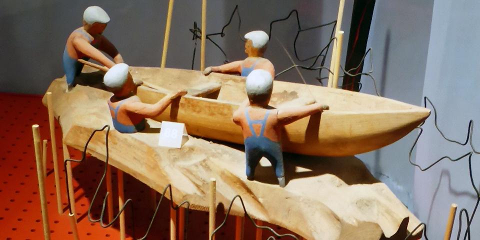 folk art, Les Moulins, Charlevoix, Quebec, Canada