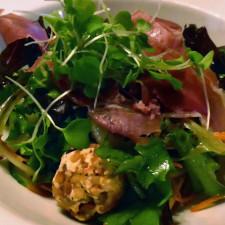 salad, Mouton Noir, Baie Saint-Paul, Charlevoix, Quebec, Canada