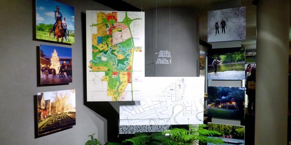 50 year plans, Kohler Design Center, Wisconsin