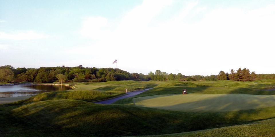 Blackwolf Run Kohler golf course, Wisconsin