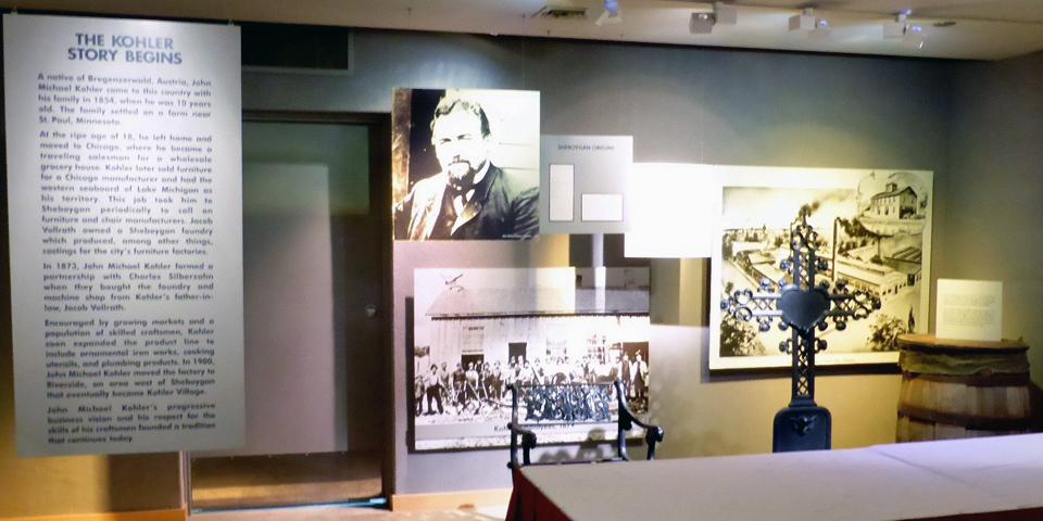 The Kohler Story Begins, Kohler Design Center, Wisconsin
