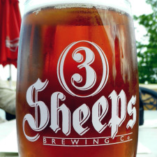 3 Sheeps Really Cool Waterslides IPA., Sheboygan, Wisconsin