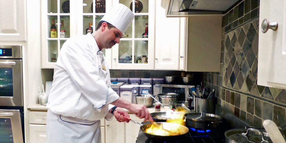Chef Scott Baker at The Osthoff Elkhart Lake