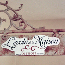 L'Ecole de la Maison, The Osthoff Resort, Elkhart Lake, Wisconsin