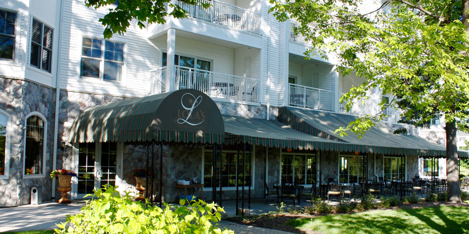 Lola's on the Lake, The Osthoff Resort, Elkhart Lake, Wisconsin.