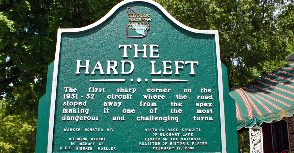 The Hard Left, Elkhart Lake, Wisconsin