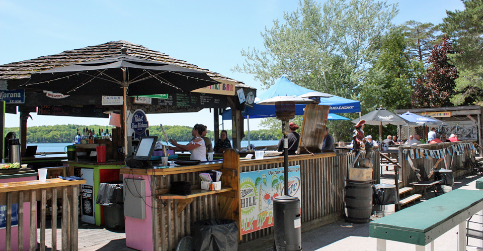 Tiki Bar, Elkhart Lake, Wisconsin