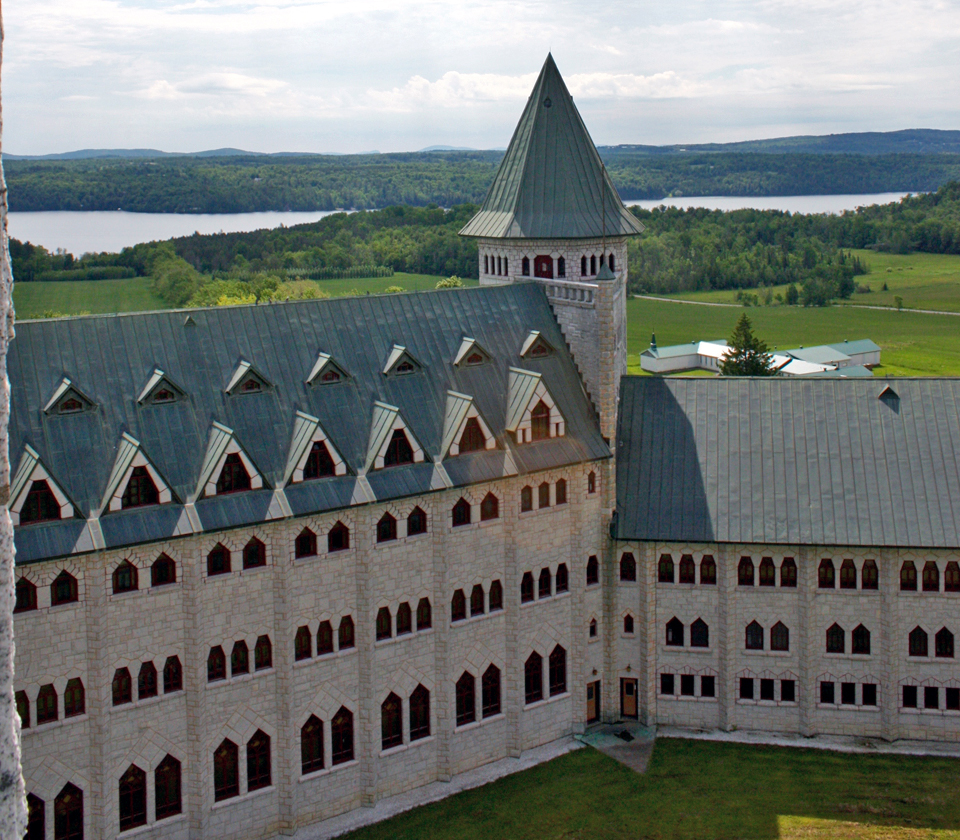 Abbaye de St-Benoît-du-Lac, Eastern Townships, Québec, Canada