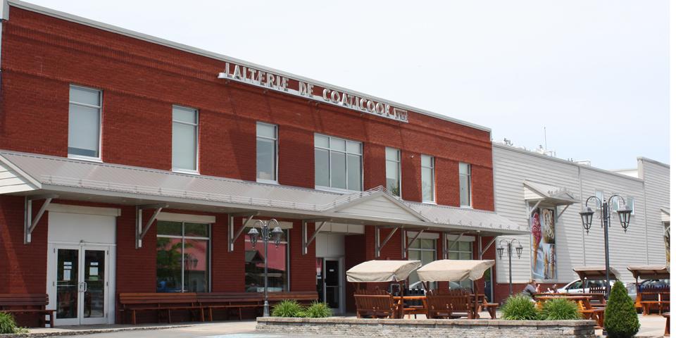 Laiterie de Coaticook, Eastern Townships, Québec, Canada