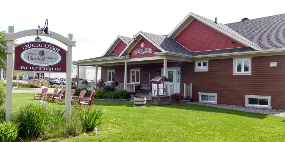 Chocolaterie Vanden Eynden, Eastern Townships, Quebec, Canada