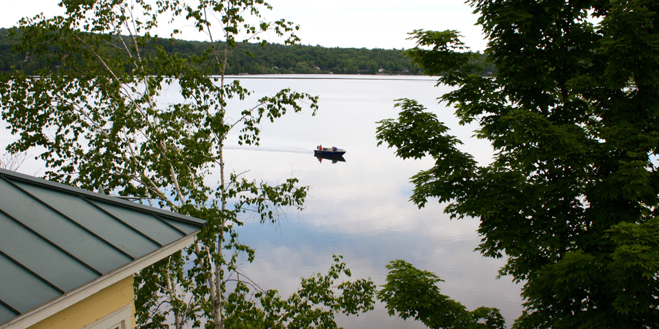 Ripplecove Lakefront Hotel, Ayer's Cliff, Eastern Townships, Quebec, Canada