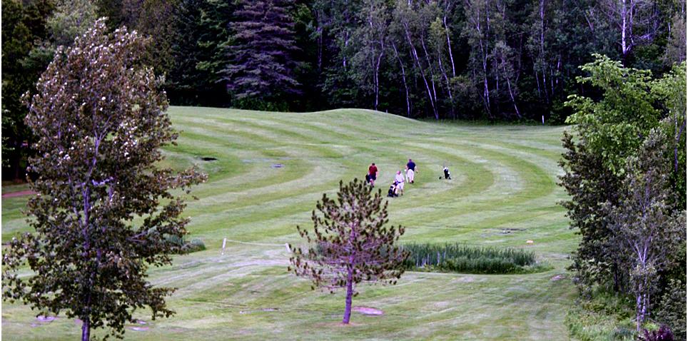 golf course, Manoir des Sables, Eastern Townships, Québec, Canada