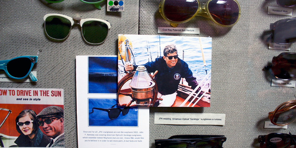 sunglasses, American Optical Museum, Southbridge, Massachusetts