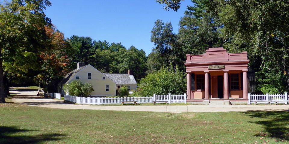 Thompson Bank, Old Sturbridge Village, Sturbridge, Massachusetts