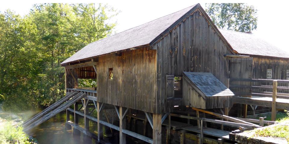 sawmill, Old Sturbridge Village, Sturbridge, Massachusetts