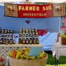 Farmer Sue, Stowe Farmers Market