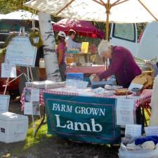 lamb, Stowe Farmers Market