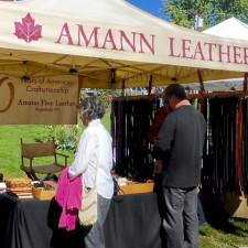 leather, Stowe Farmers Market