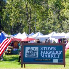 Stowe Farmers Market , Stowe, Vermont