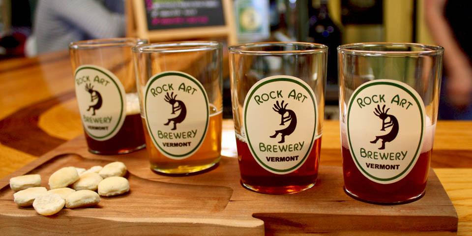 Rock Art Brewery, Morrisville, VT