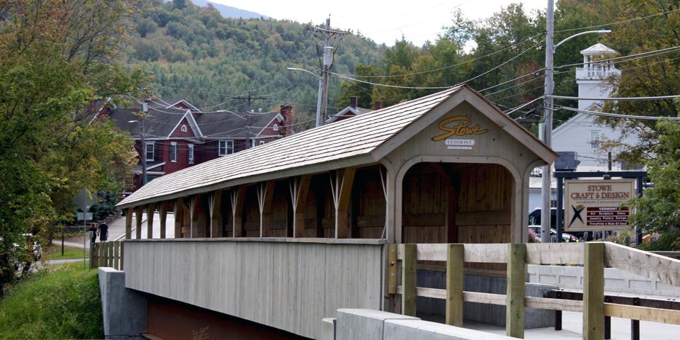 walkway, Stowe, Vermont