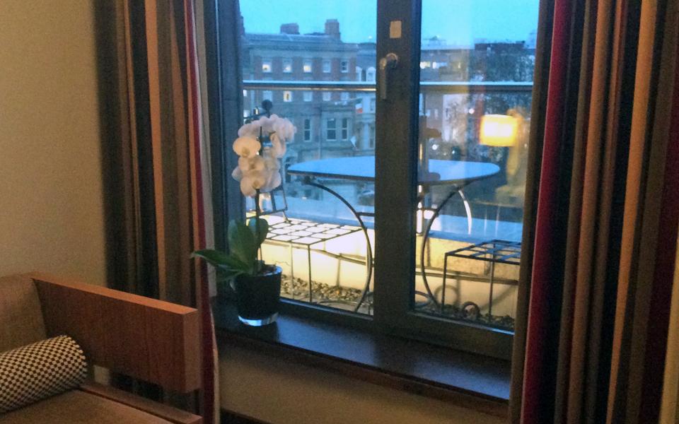 view of balcony, Fitzwilliam Hotel, Dublin