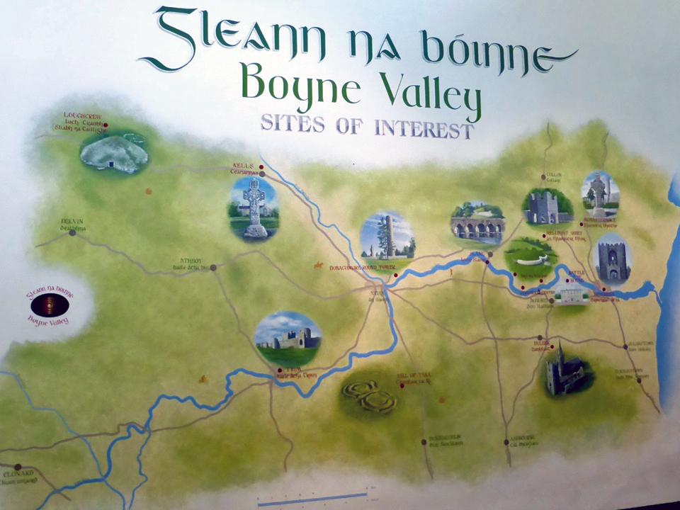 Boyne Valley sites of interest, County Meath, Ireland
