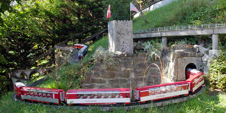 The Hauswirths' model trains, Frutigen, Switzerland