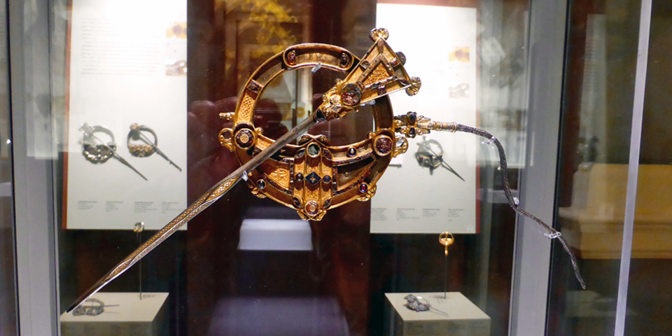 Many of Ireland's best archaeological treasures, like the Tara brooch, have been discovered in County Meath. The Tara brooch is now in the National Museum of Ireland in Dublin.