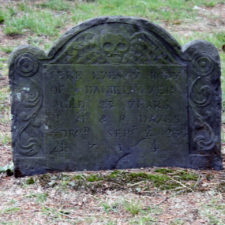 Daniel Ayer, 1714, Cypress cemetery, Old Saybrook, Connecticut