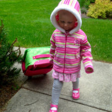Finding a suitcase that a toddler can manage on his or her own makes traveling more fun.