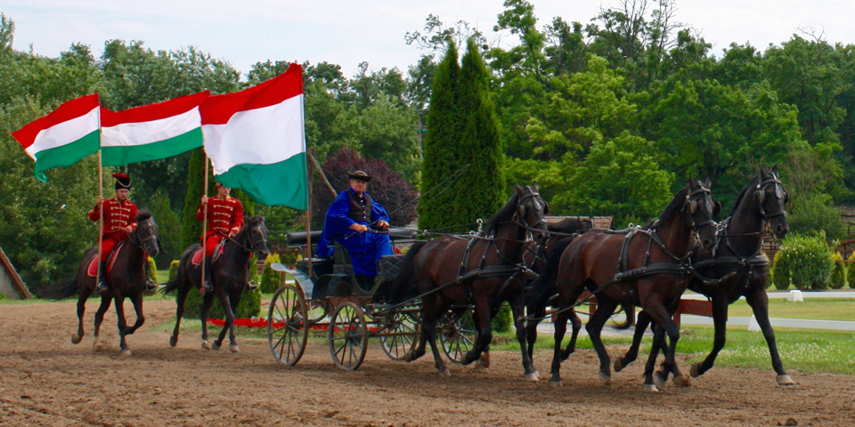 Hungarian Horsemen, an optional excursion during our Viking River Cruise