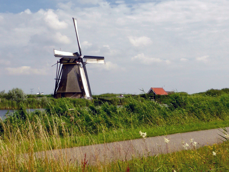 Kinderdijk, Holland