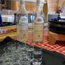 schnapps, A Taste of Germany night aboard the Viking Magni