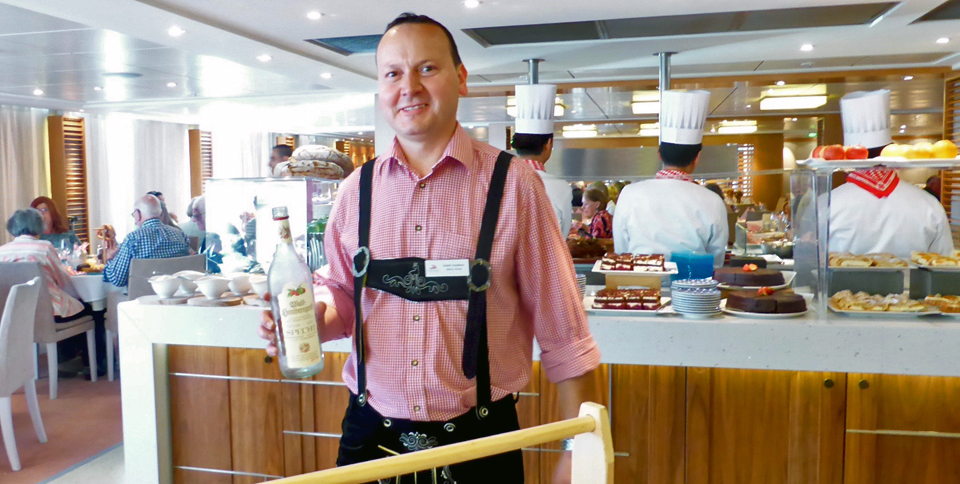 Taste of Germany aboard the Viking Magni
