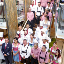 A Taste of Germany night aboard the Viking Magni