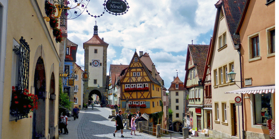 Rothenburg-ob-der-Tauber, Germany