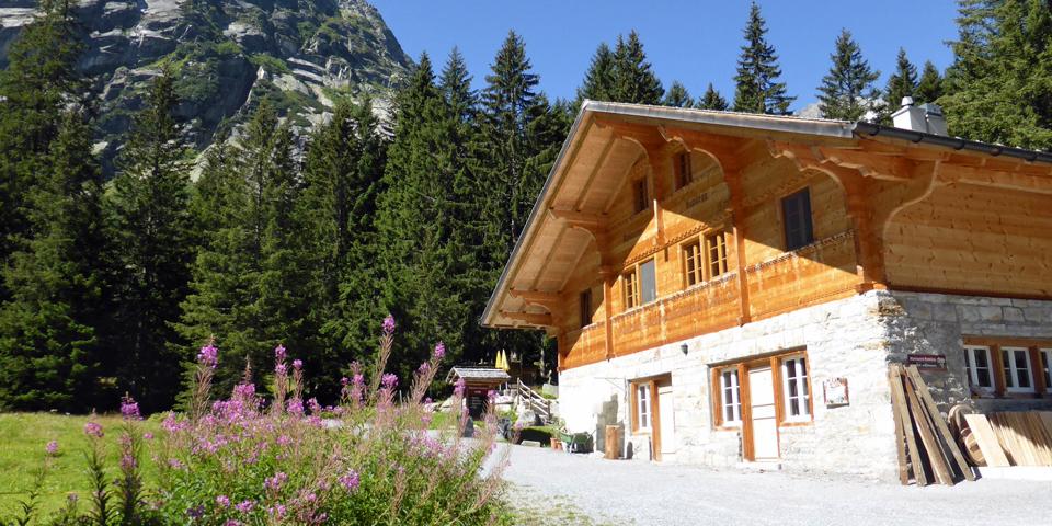 cheesemaker's hut, Switzerland