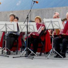 Concertina Club, Folklore Concert, Brienz, Switzerland