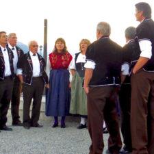 yodelers, Folklore Concert, Brienz, Switzerland